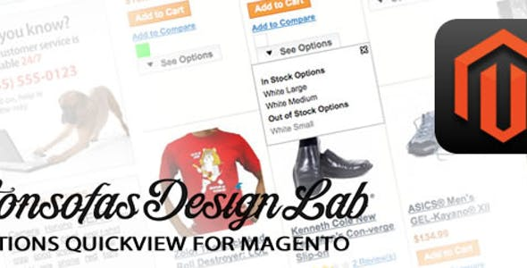 Options Quickview for Magento