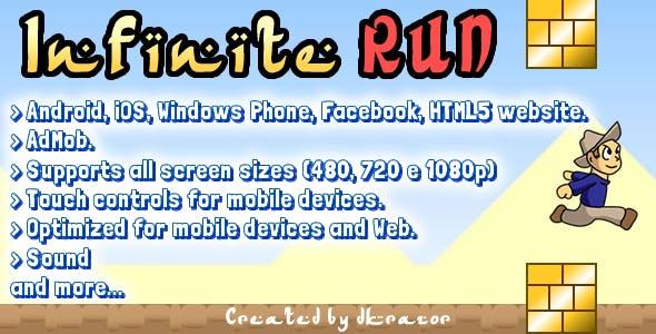 Infinite Run Game Starter Kit