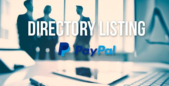 Directory Listing with PayPal Support
