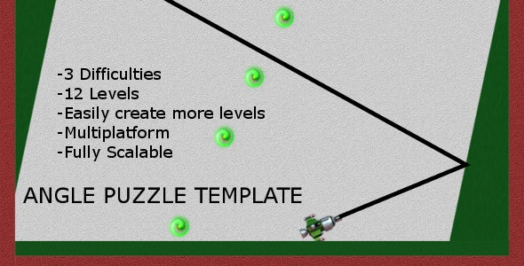 Angle Puzzle Template - CodeCanyon Item for Sale