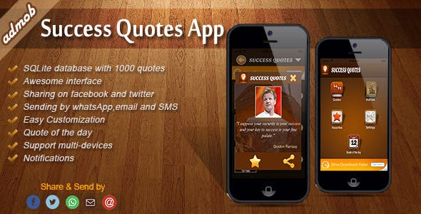Success Quotes - iOS Template
