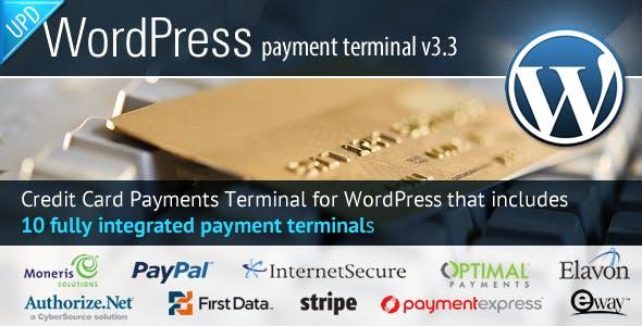 Credit Card Payments Wordpress