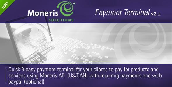 Moneris Payment Terminal