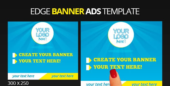 Edge Multipurpose Banner Ads