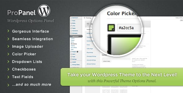 ProPanel - Wordpress Theme Options Panel