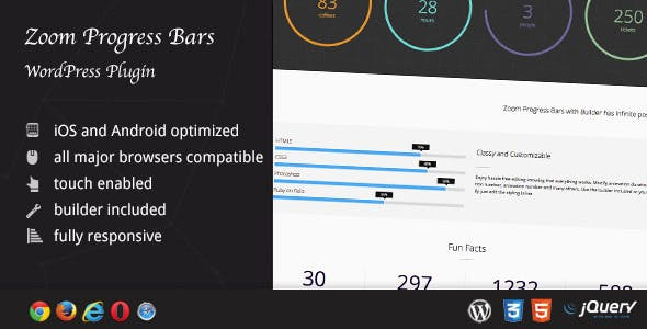 Zoom Progress Bars - WordPress Plugin