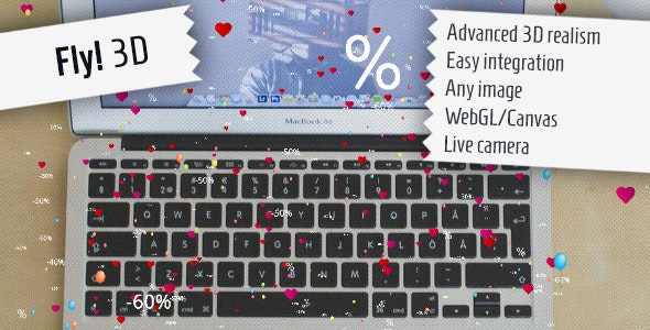Fly! 3D - Attractive jQuery Effect - CodeCanyon Item for Sale