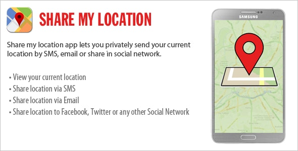 Share My Location - CodeCanyon Item for Sale