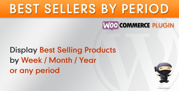 WooCommerce Best Sellers By Period - CodeCanyon Item for Sale