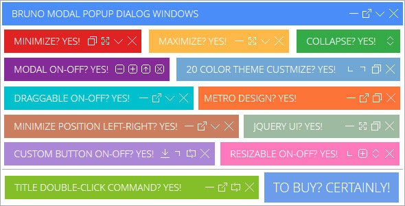 Bruno Modal PopUp Dialog - CodeCanyon Item for Sale