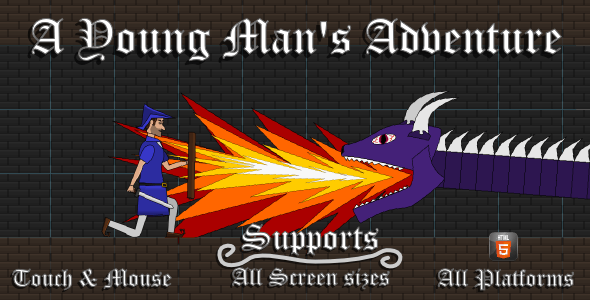 A Young Man's Adventure: HTML5 Game