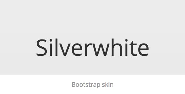 Silverwhite - Bootstrap Skin - CodeCanyon Item for Sale