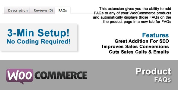 WooFAQs: WooCommerce Product FAQs - CodeCanyon Item for Sale