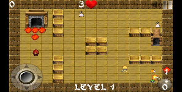 Bomberman Game - Android Game with Admob