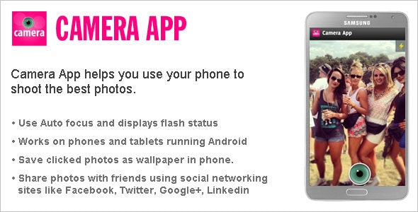 Android Camera App - CodeCanyon Item for Sale