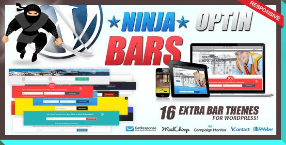 Optin Bars Pack for Ninja Popups - CodeCanyon Item for Sale