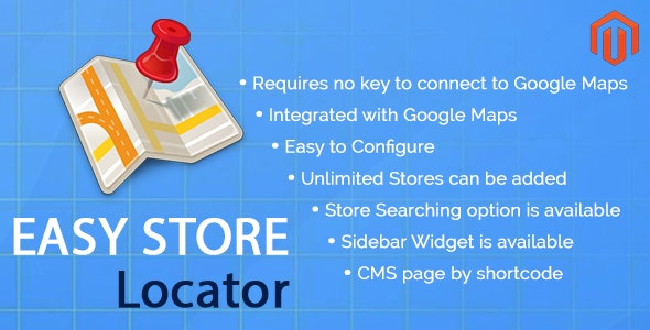 Easy Store Locator Magento Extension - CodeCanyon Item for Sale