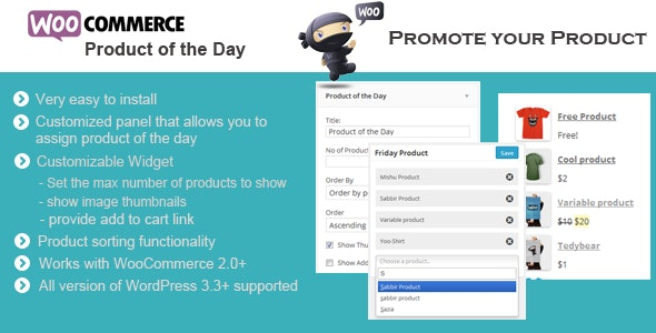 WooCommerce Product of the Day - CodeCanyon Item for Sale
