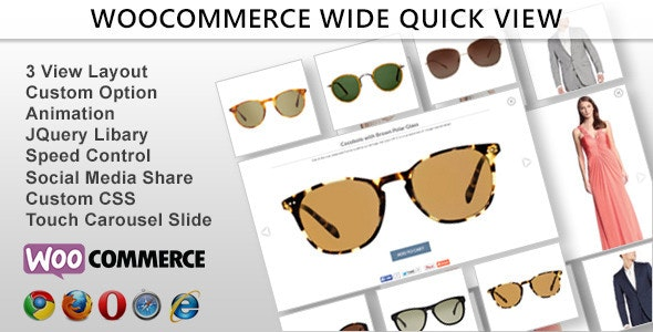 Wide Quick View - Woocommerce - CodeCanyon Item for Sale