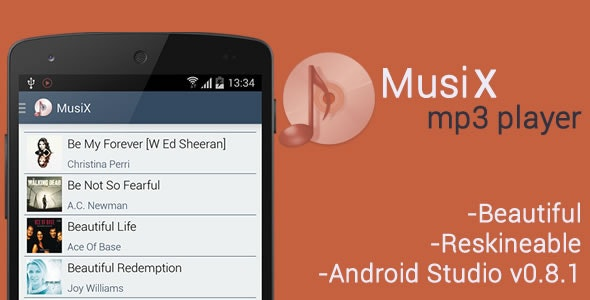 MusiX Player for Android - CodeCanyon Item for Sale