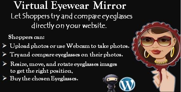 "Eyewear Virtual Try-on ""WooCommerce plugin"""