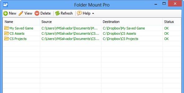 Folder Mount PRO