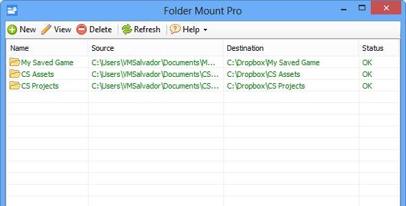 Folder Mount PRO - CodeCanyon Item for Sale