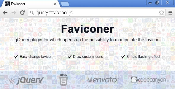 Faviconer - Dynamic Favicon - CodeCanyon Item for Sale