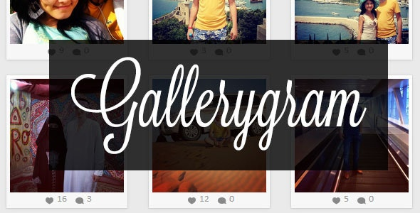Gallerygram - CodeCanyon Item for Sale