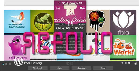Refolio Gallery For Wordpress - Votable/Sortable