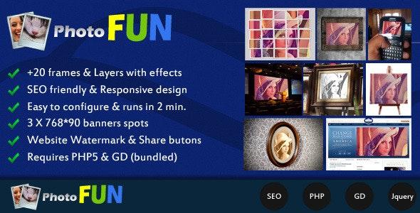 Photofun - CodeCanyon Item for Sale