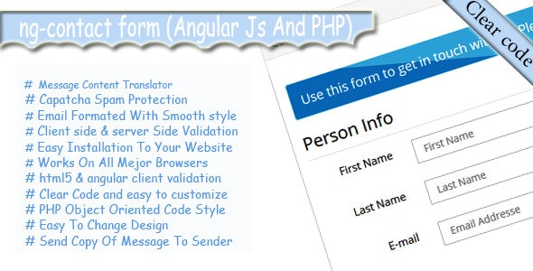 ng-contact Form - Msg Translator, Responsive Style - CodeCanyon Item for Sale