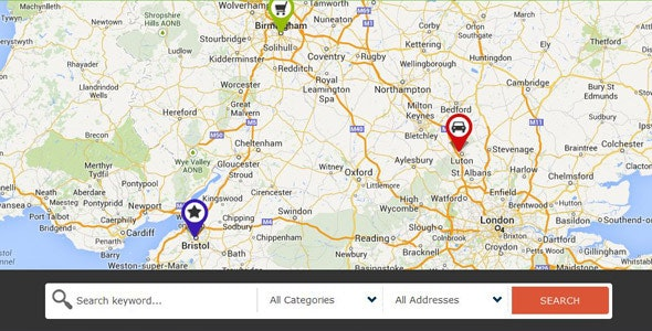 Directory Ajax Google Map Search Mod For Joomla - CodeCanyon Item for Sale