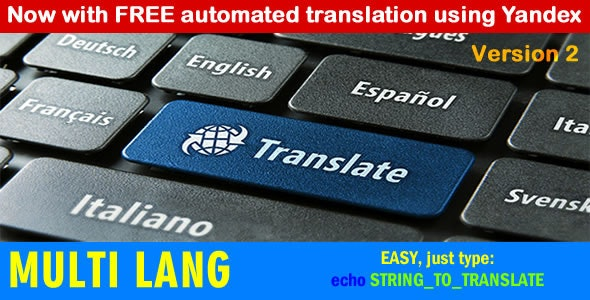Multi Lang: Your website in multiple languages - CodeCanyon Item for Sale