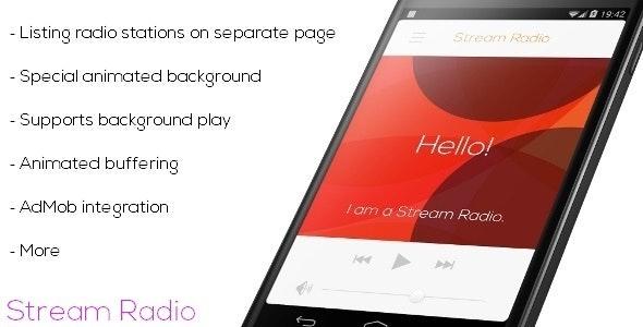 Stream Radio - Multiple Station - CodeCanyon Item for Sale