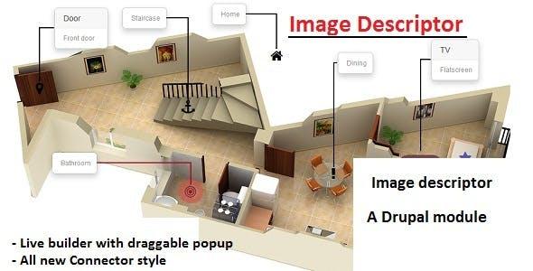 Hotspot image descriptor drupal