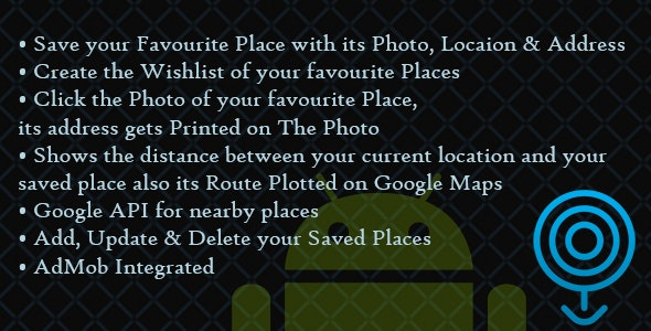 Fortin Remember My Places - Location App - CodeCanyon Item for Sale