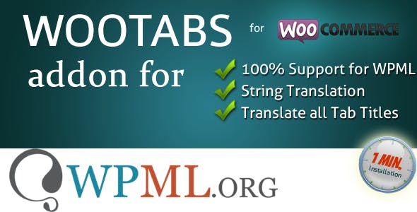 WooTabs WPML Addon