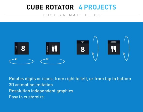 Cube Rotator - CodeCanyon Item for Sale