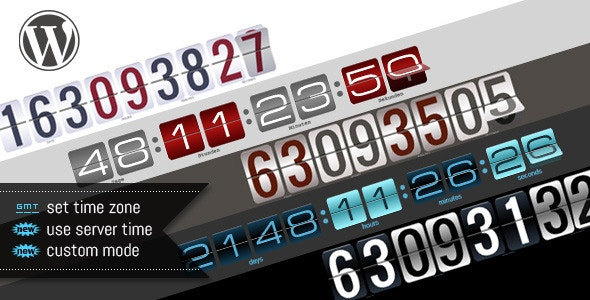 WordPress Responsive Countdown - CodeCanyon Item for Sale
