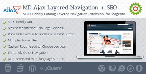 Ajax Layered Navigation + SEO