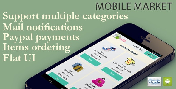 Mobile Market - CodeCanyon Item for Sale