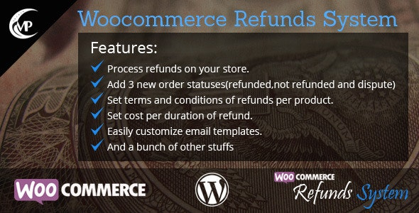 Woocommerce Refunds System - CodeCanyon Item for Sale
