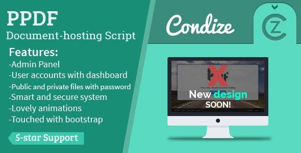 Ppdf - Document Hosting Script - CodeCanyon Item for Sale