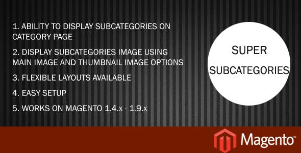 Super Subcategories