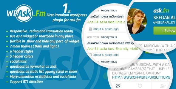 WP Ask.fm - WordPress Plugin