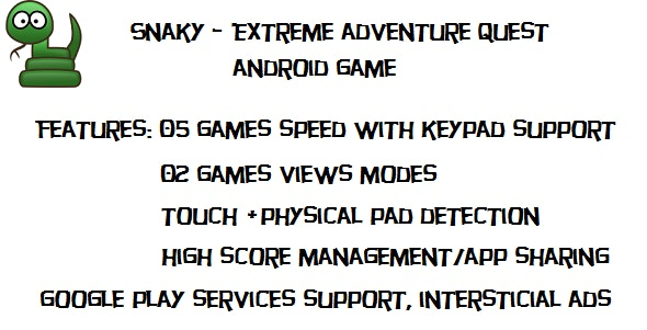Snaky-Extreme Quest with admob - CodeCanyon Item for Sale