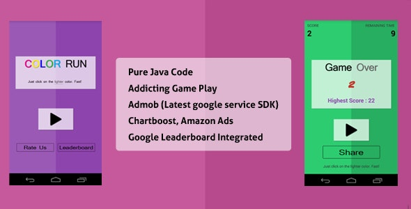 Color Run - Super Addicting! - CodeCanyon Item for Sale