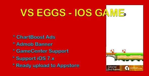 Vs Eggs - Admob, ChartBoost, GameCenter