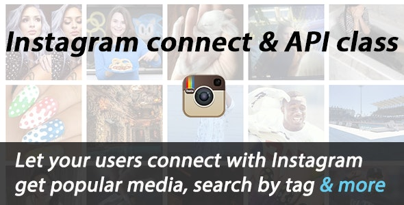 Instagram connect and API Integration - CodeCanyon Item for Sale